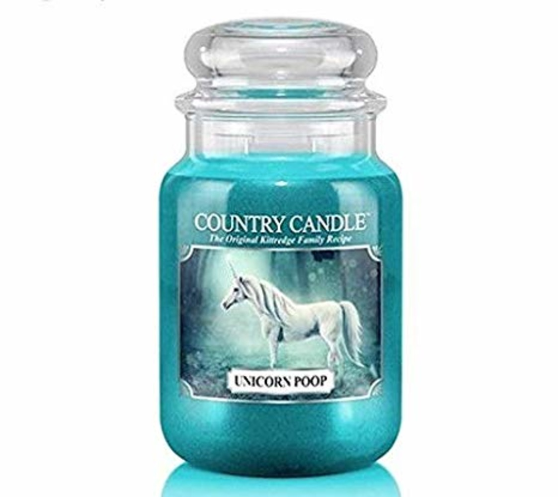 Country Candle Giara grande Unicorn Poop