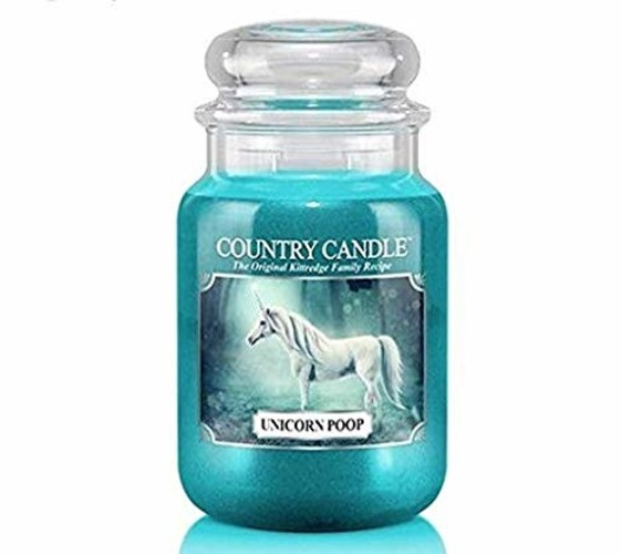 Country Candle Giara grande Unicorn Poop