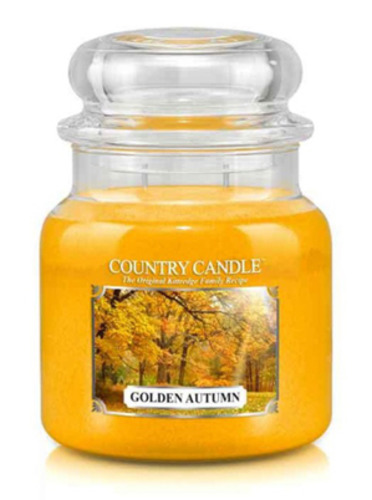 Country Candle Giara media Golden Autumn