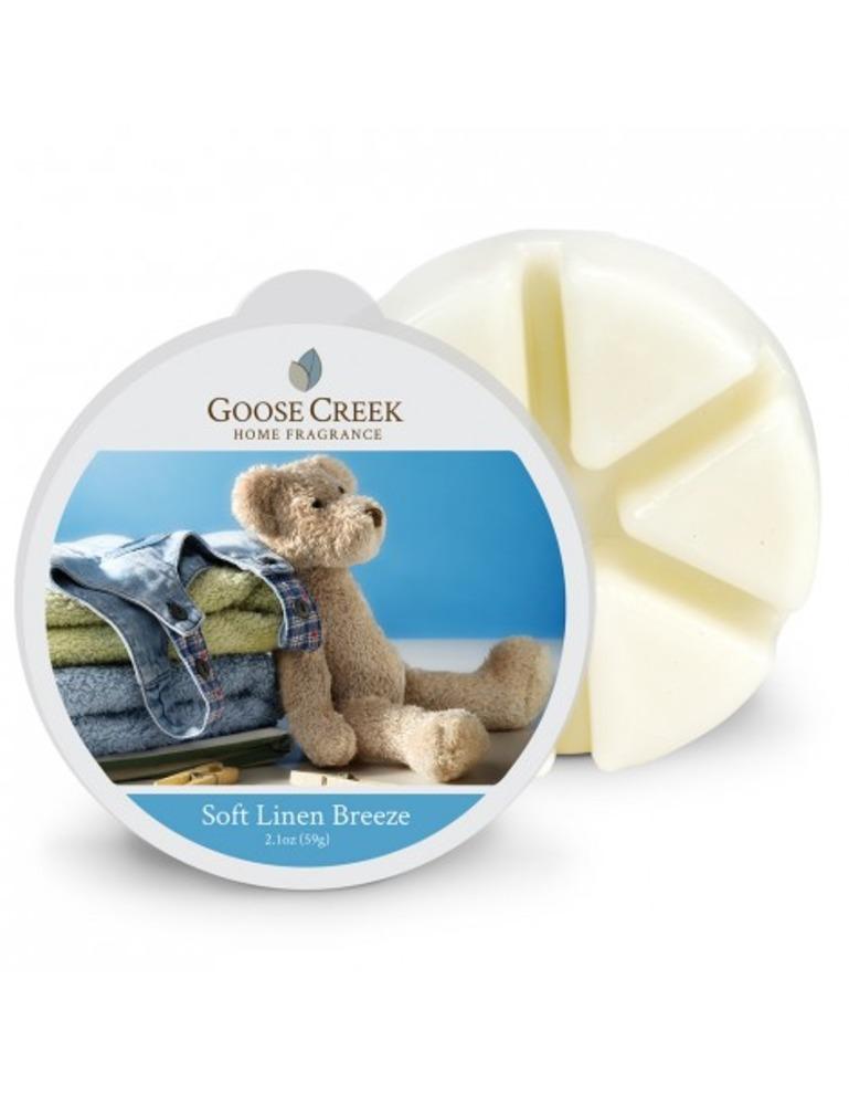Goose Creek Candle Waxmelt Soft Linen Breeze