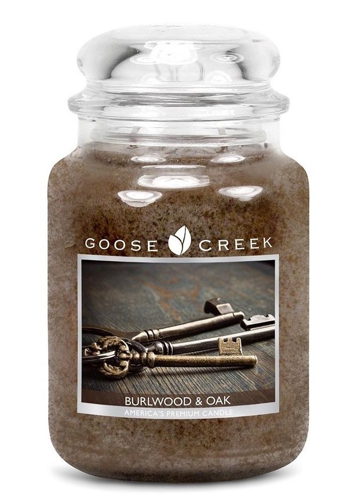 Goose Creek Candle Giara grande Burlwood & Oak