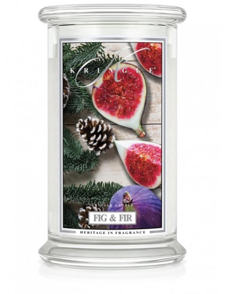 Kringle Candle Giara grande Fig & Fir