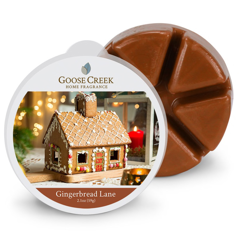 Goose Creek Candle Waxmelt Gingerbread Lane