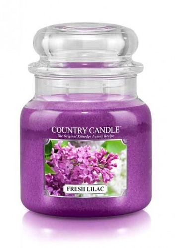 Country Candle Giara media Fresh lilac