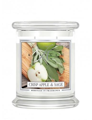 Kringle Candle Giara media Crisp Apple & Sage