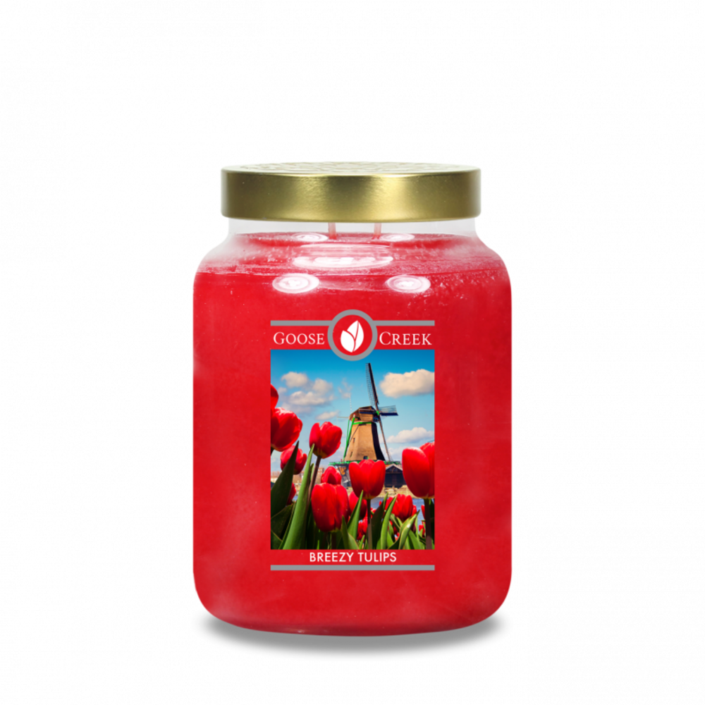 Goose Creek Candle Giara grande Breezy Tulips