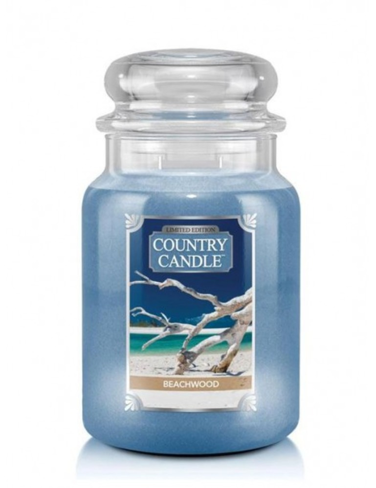 Country Candle Giara grande Beachwood Limited Edition