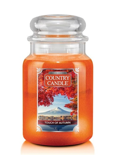 Country Candle Giara grande Touch of Autumn Limited Edition