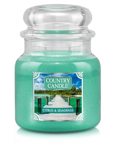Country Candle Giara media Citrus & Seagrass