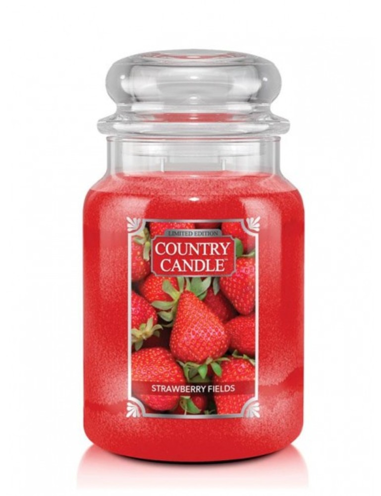 Country Candle Giara grande Strawberry Field Limited Edition