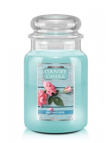 Country Candle Giara grande Salt Mist Rose Limited Edition