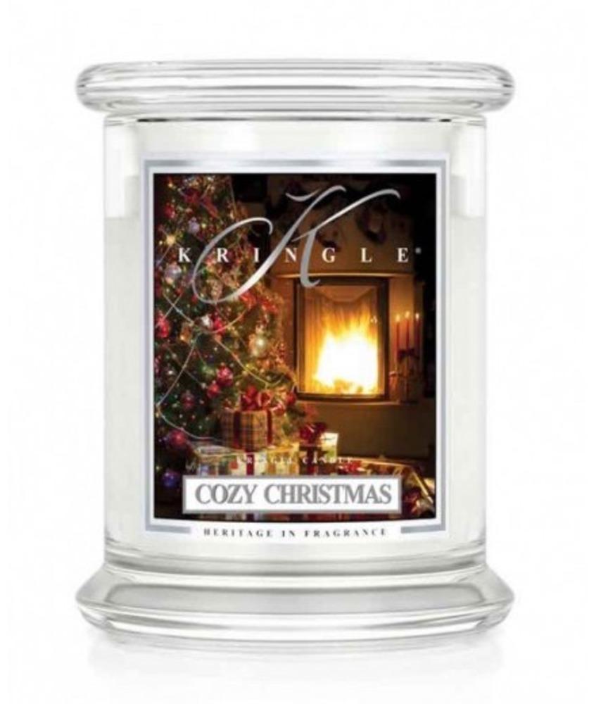 Kringle Candle Giara media Cozy Christmas