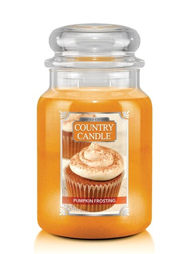 Country Candle Giara grande Pumpkin Frosting Limited Edition