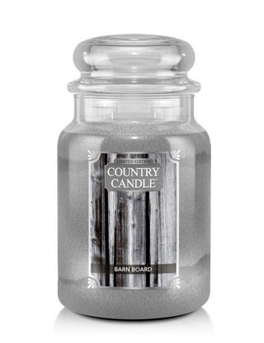 Country Candle Giara grande Barn Board Limited Edition