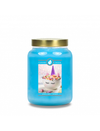 Goose Creek Candle Giara grande Unicorn Candy