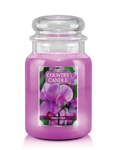 Country Candle Giara grande Sweet Pea Limited Edition