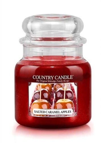 Country Candle Giara media Salted Caramel Apples