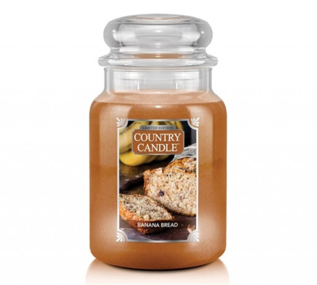Country Candle Giara grande Banana Bread Limited Edition