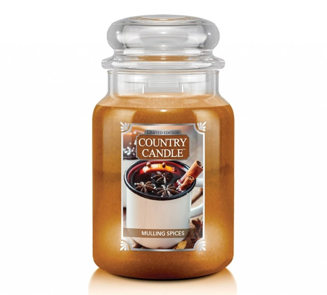 Country Candle Giara grande Mulling Spices Limited Edition