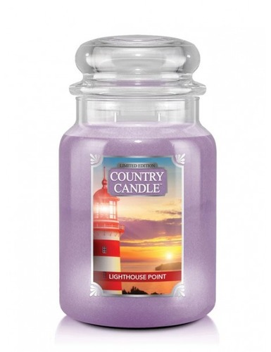 Country Candle Giara grande Lighthouse Point Limited Edition