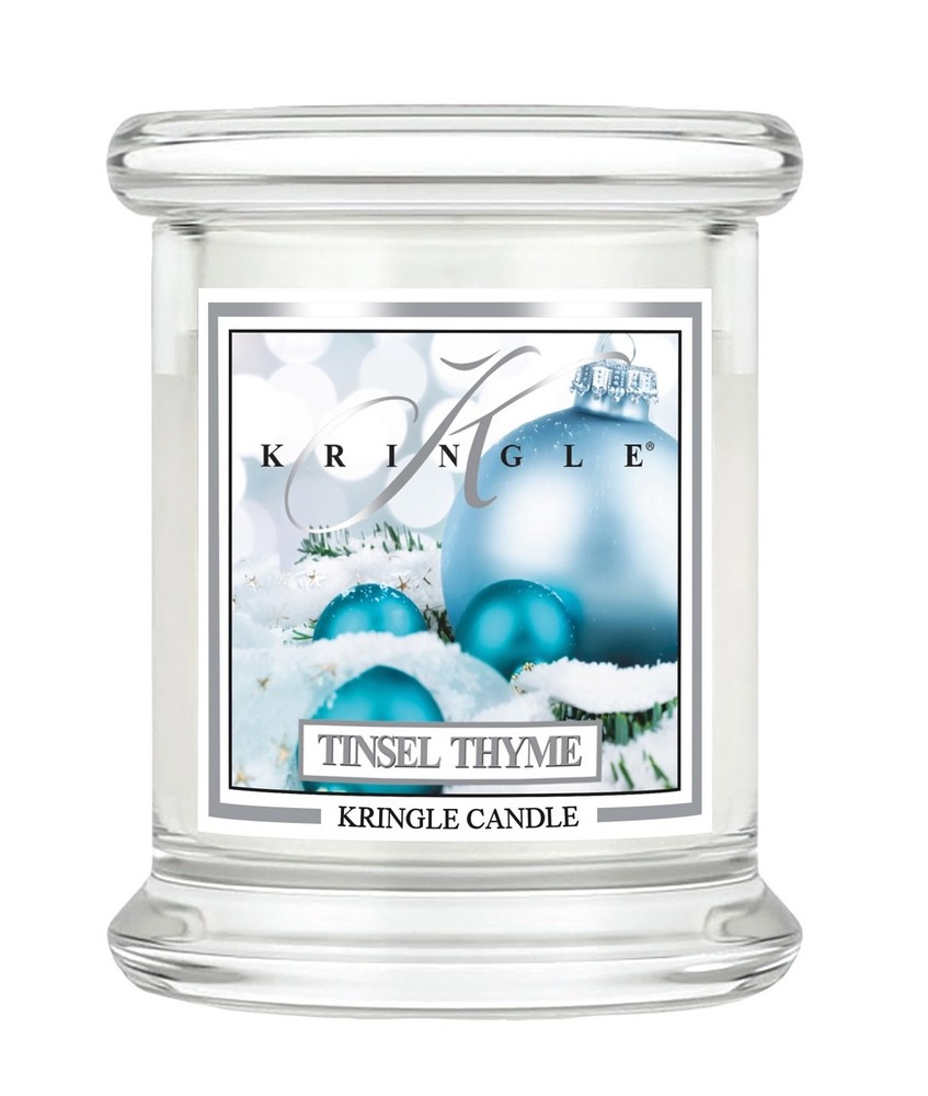 Kringle Candle Giara media Tinsel Thyme