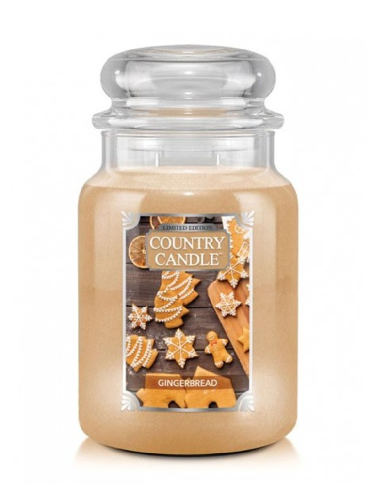 Country Candle Giara grande Gingerbread Limited Edition