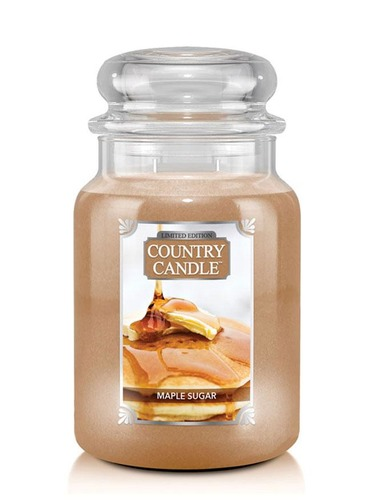 Country Candle Giara grande Maple Sugar Limited Edition
