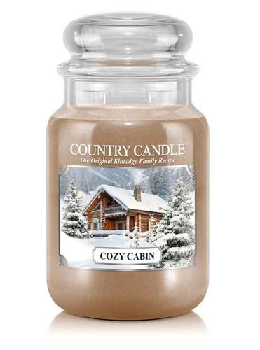 Country Candle Giara grande Cozy Cabin
