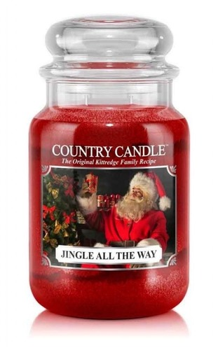 Country Candle Giara grande Jingle All the Way