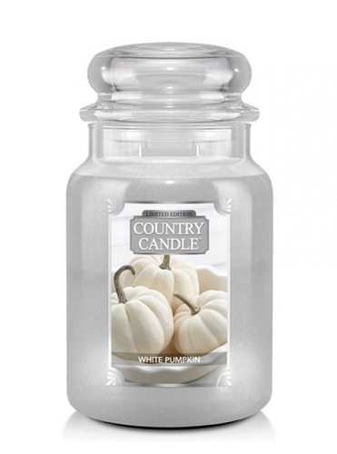 Country Candle Giara grande White Pumpkin Limited Edition