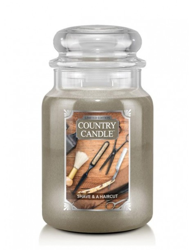 Country Candle Giara grande Shave & A Haircut Limited Edition