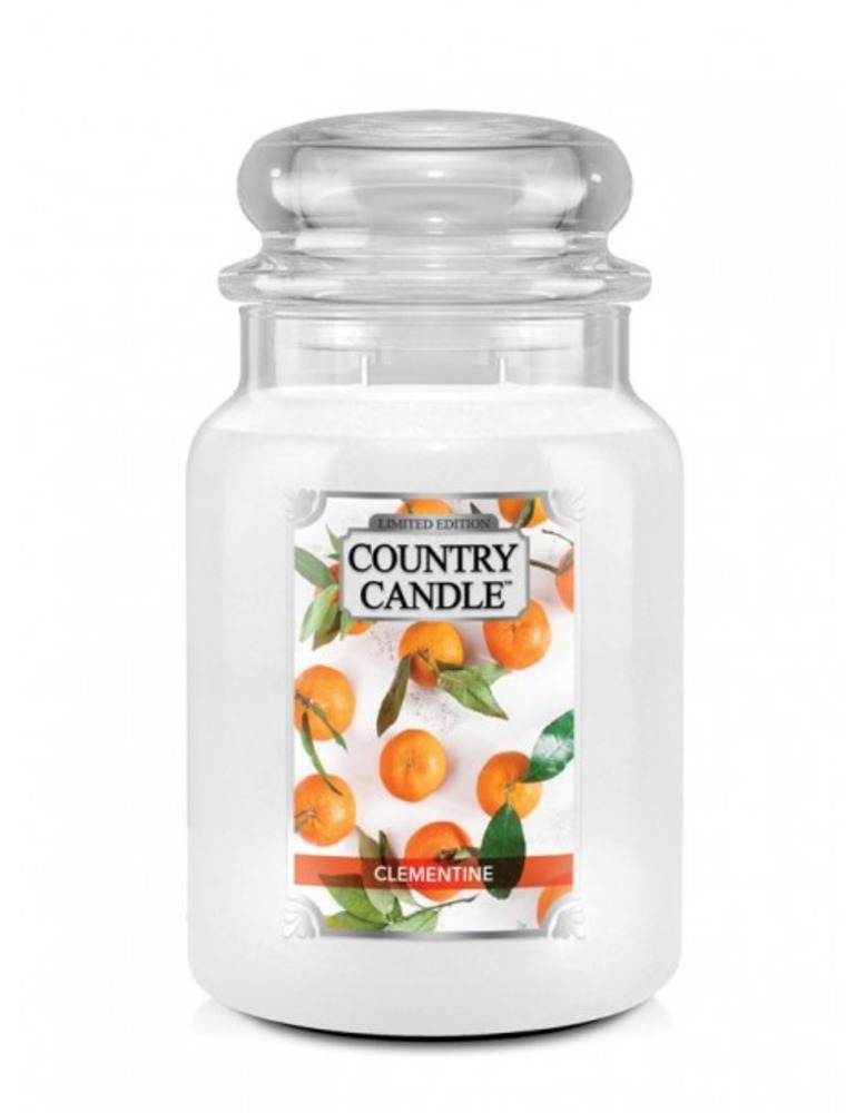 Country Candle Giara grande Clementine Limited Edition