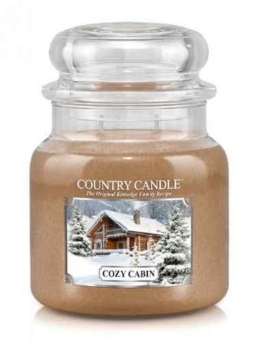 Country Candle Giara media Cozy Cabin