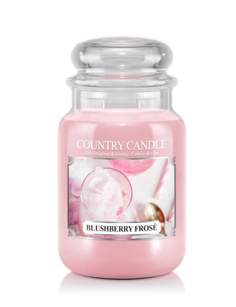 Country Candle Giara grande Blushberry Frose