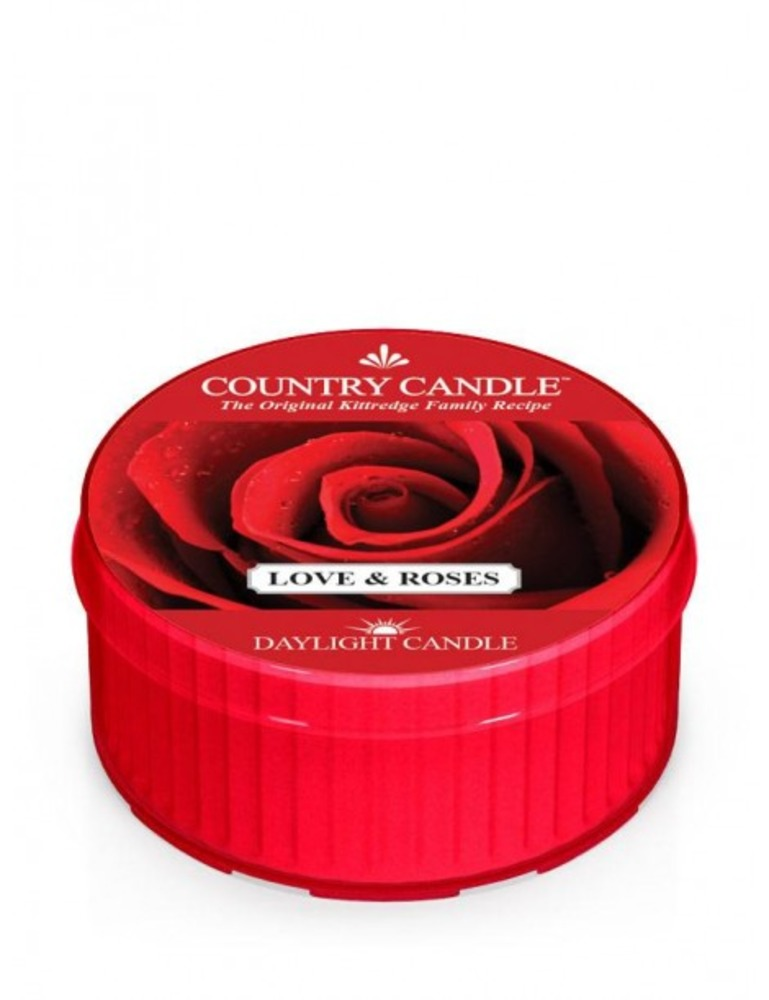 Country Candle Daylight Love & Roses