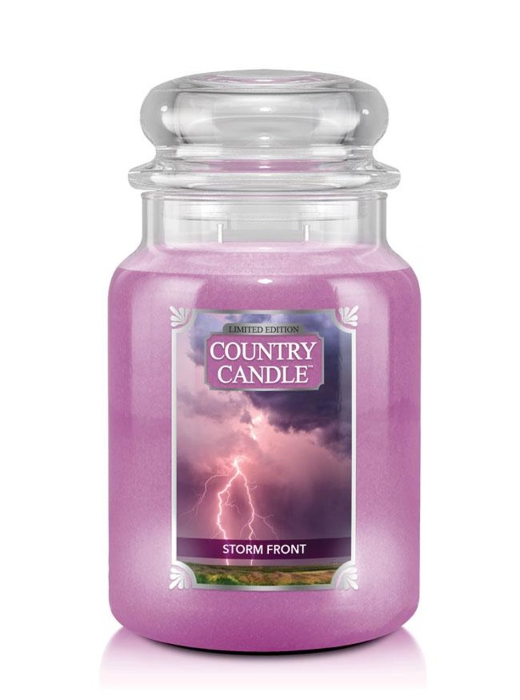 Country Candle Giara grande Storm Front Limited Edition
