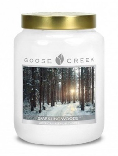 Goose Creek Candle Giara grande Sparkling Woods