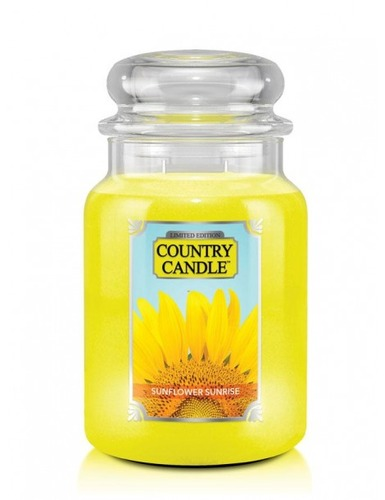 Country Candle Giara grande Sunflower Sunrise Limited Edition