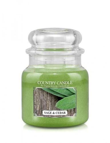 Country Candle Giara media Sage & Cedar