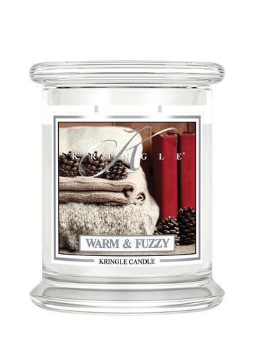 Kringle Candle Giara media Warm & fuzzy
