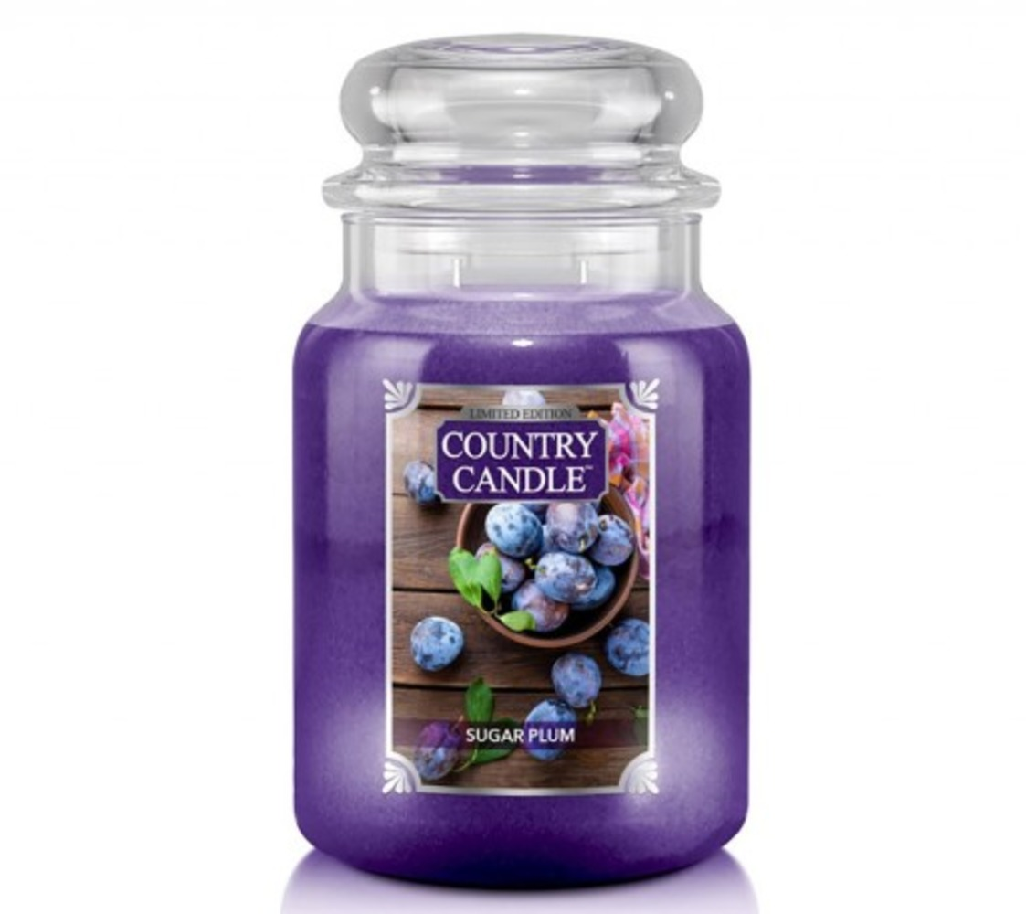 Country Candle Giara grande Sugar Plum Limited Edition