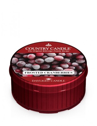 Country Candle Daylight Frosted Cranberries