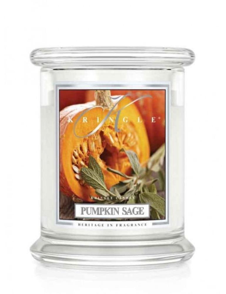 Kringle Candle Giara media Pumpkin Sage